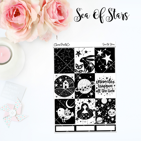 Standard Vertical Weekly Kit MINI  - Sea Of Stars