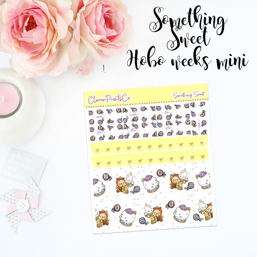HOBONICHI Weeks Weekly Kit Mini - Something Sweet