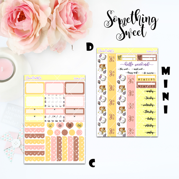 Standard Vertical Weekly Kit MINI  - Something Sweet