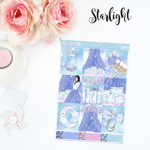 Standard Vertical Weekly Kit MINI  - Starlight