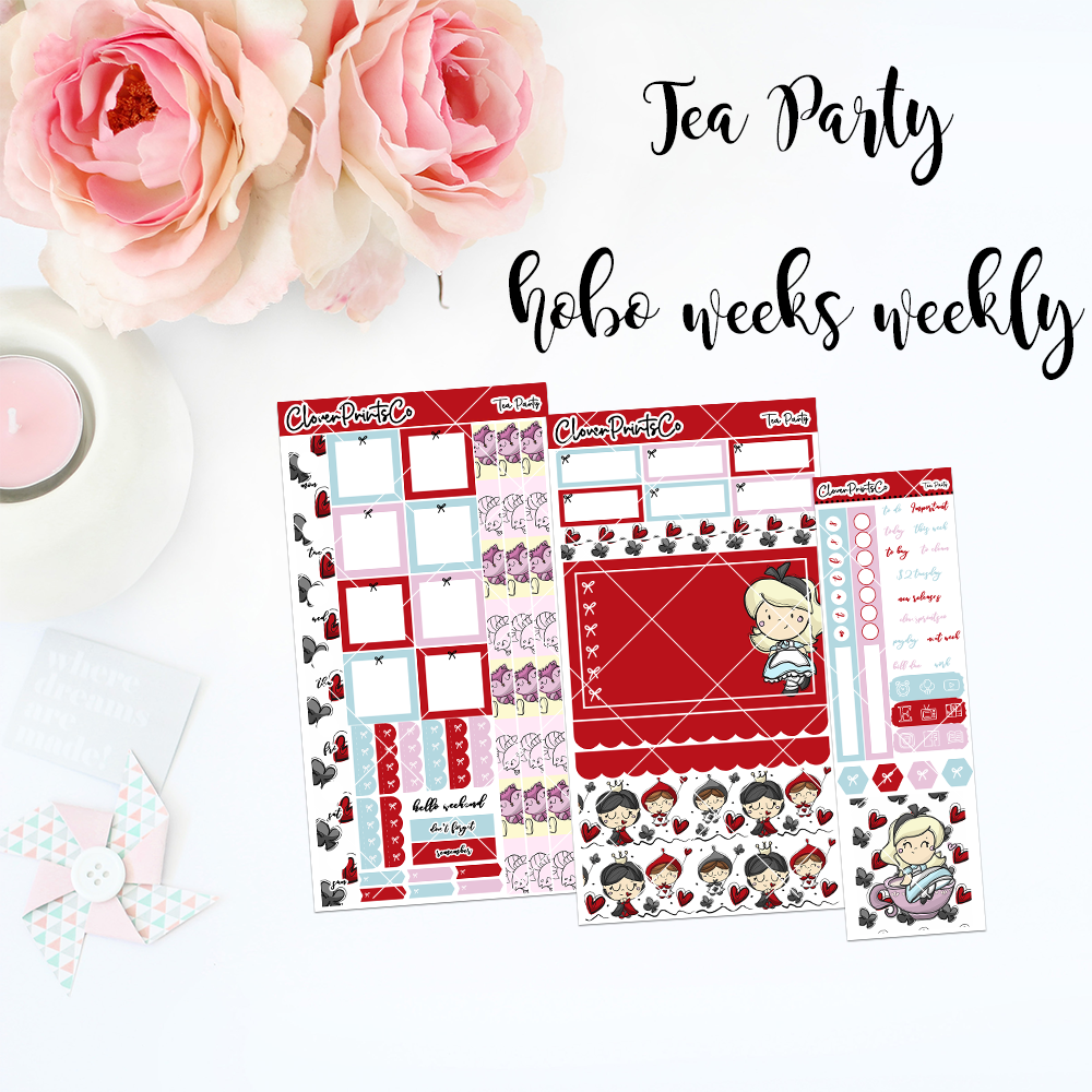 HOBONICHI Weeks Weekly Kit - Tea Party