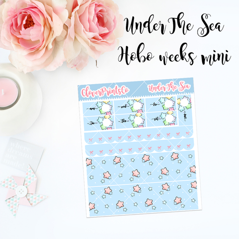 HOBONICHI Weeks Weekly Kit Mini - Under The Sea