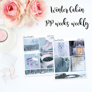PrintPression Weeks Weekly Kit - Winter Cabin