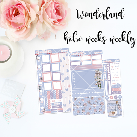 HOBONICHI Weeks Weekly Kit - Wonderland
