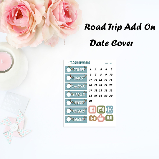 OVERSTOCK - Road Trip Date Cover Add On