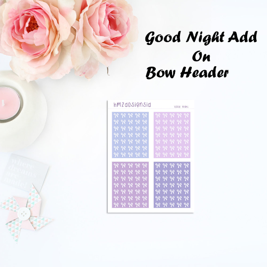 OVERSTOCK - Good Night Add On