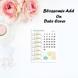OVERSTOCK - Blossomie Date Cover Add On