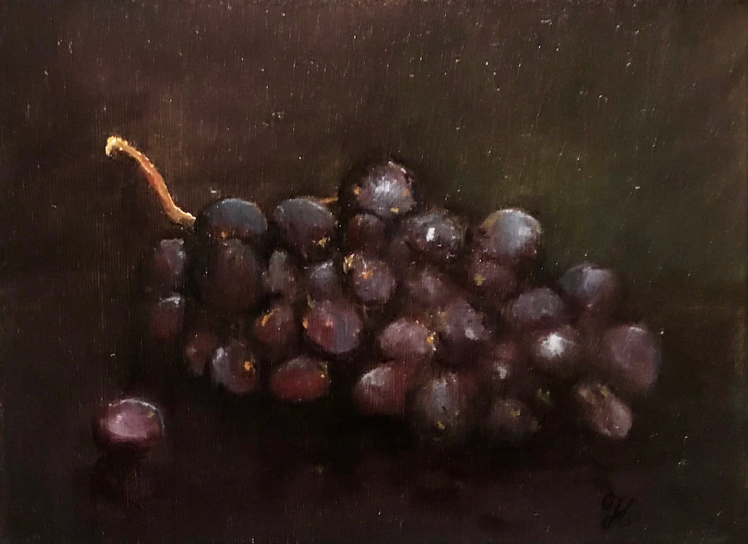 Grapes - still life