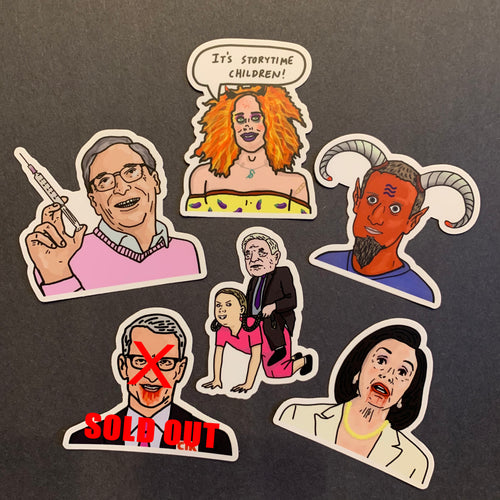 Villains Sticker Pack