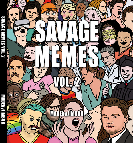SAVAGE MEMES VOL. 2 - The Book