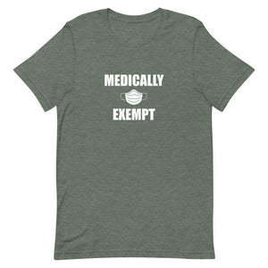Medically Exempt - Short-Sleeve Men's T-Shirt