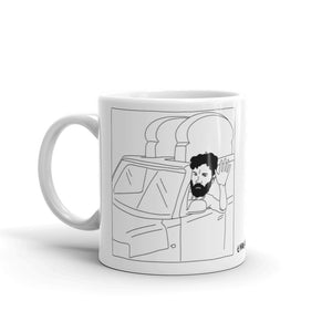 """Toaster Car"" Mug - Art by @Wobbly.bear_"