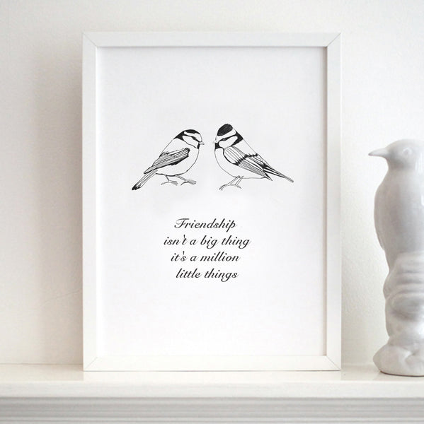 'Friendship Bird'  Print