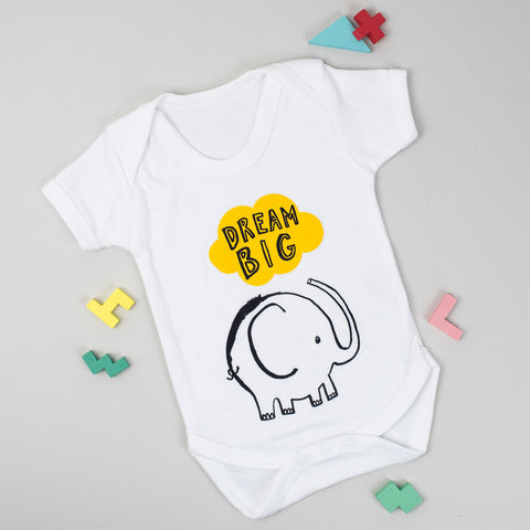 Elephant Dream Big Babygrow