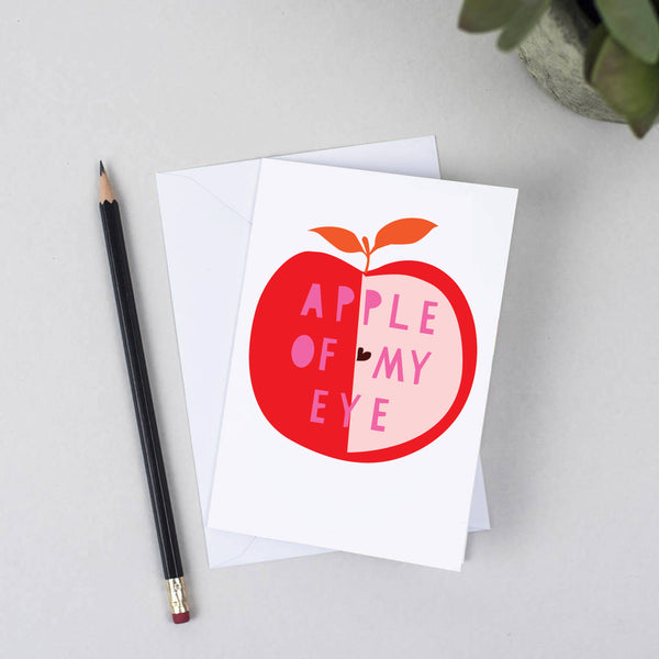 'Apple Of My Eye' Card