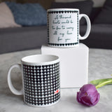 A Thousand Hearts Personalised Mug