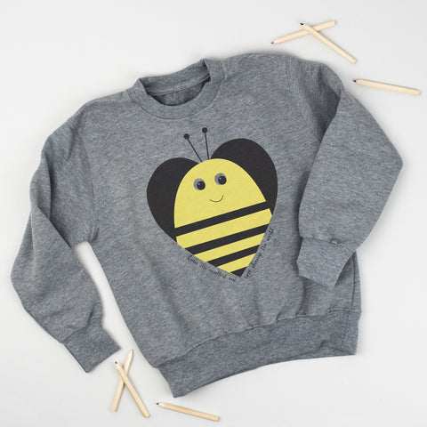 Bee Heart Sweatshirt