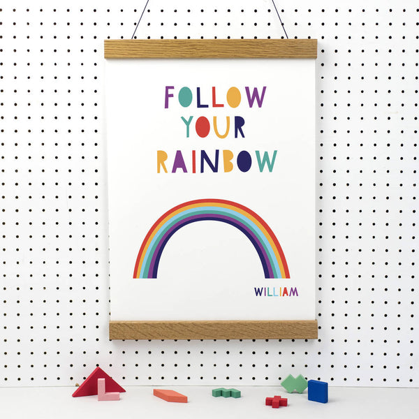 Personalised Rainbow Print