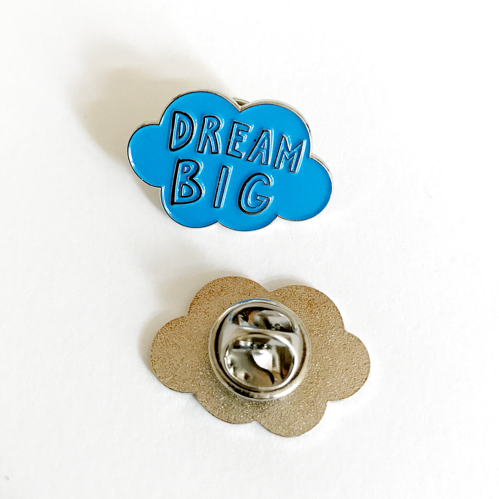 Dream Big Cloud Enamel Pin Karin 197 Kesson