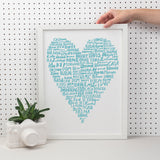 Home Is Where The Heart Is Print
