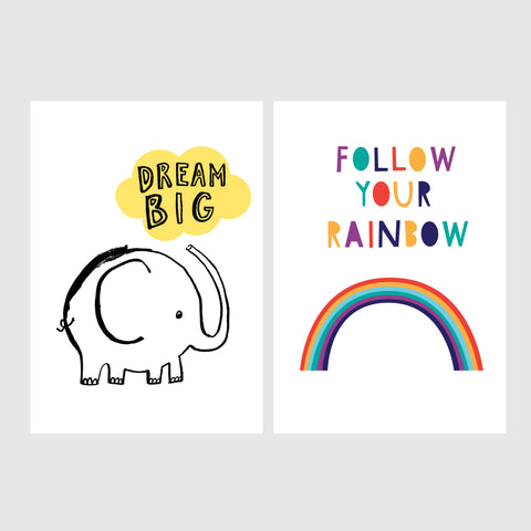 Inspirational A4 Print Bundle