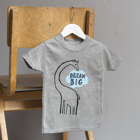 Giraffe Dream Big T Shirt