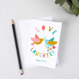 Romantic Love & Laughter Card