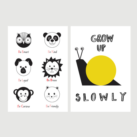 Nursery A4 Print Bundle