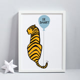 Tiger Balloon Print