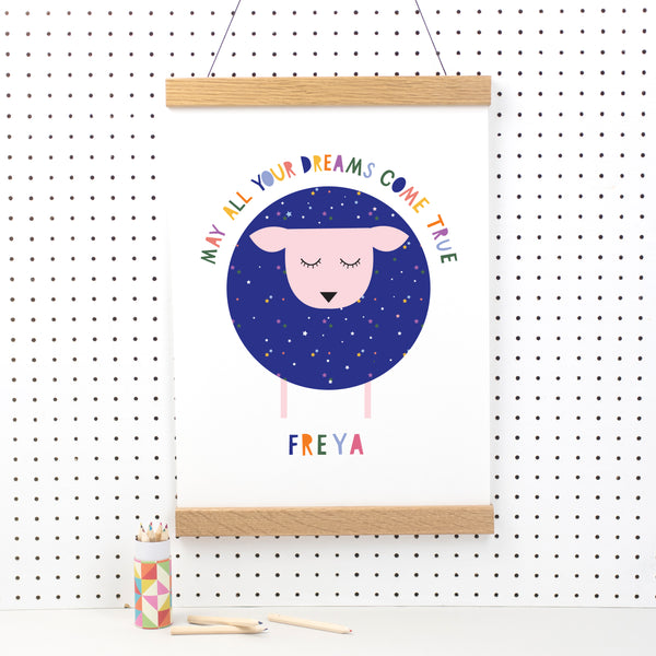 May Your Dreams Come True Print