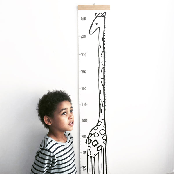 Giraffe Height Chart