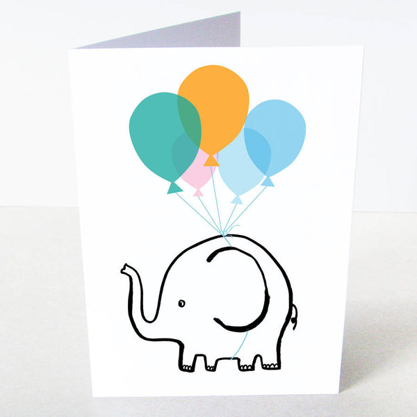 Elephant Celebration Card
