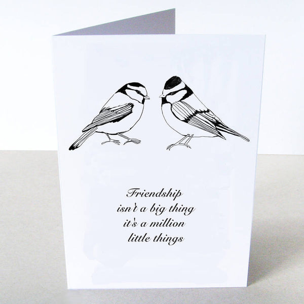 'Friendship Bird' Card