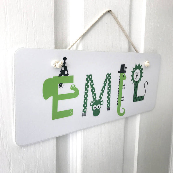 Personalised Children's Doorsign