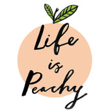 Life Is Peachy Art Print