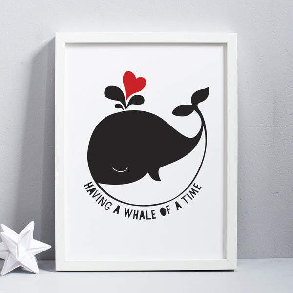 Having A Whale Of A Time Print