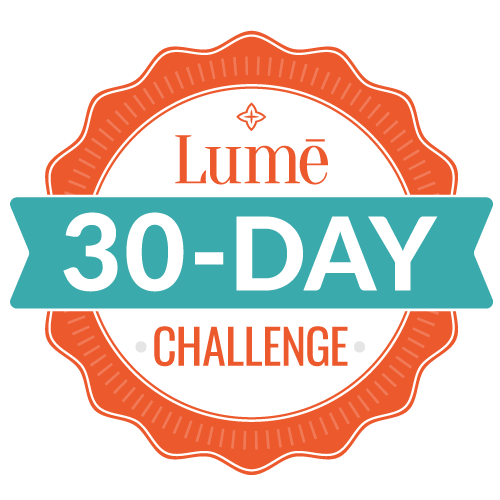 Start your 30-day Lume challenge