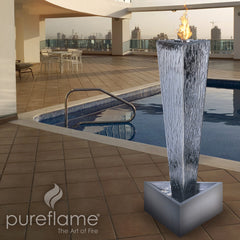 Tower of Fire Ethanol Biofuel Fireplace