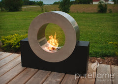 Ring of Fire Ethanol Biofuel Fireplace