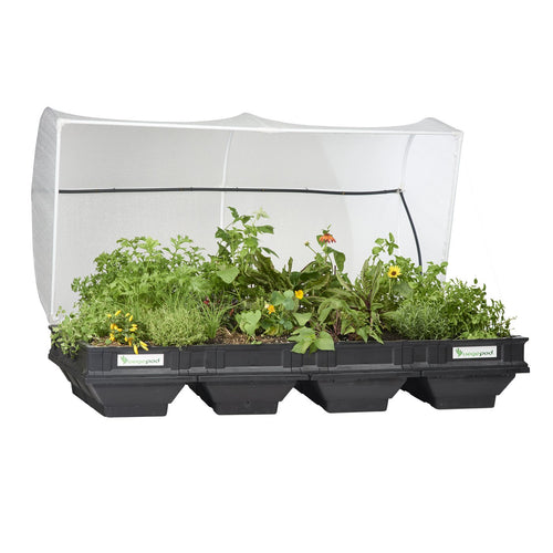 Large Raised Garden Bed with Garden Cover