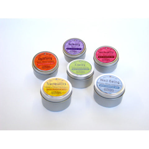 Tranquility Aromatherapy Beeswax Candle Travel Tin