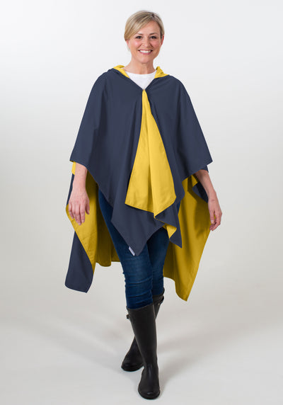 Hooded Navy & Gold SPIRITRAP