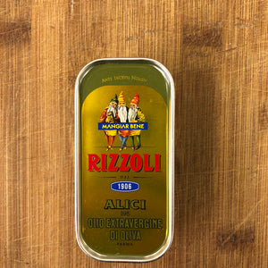 Rizzoli Anchovy Fillets in Extra Virgin Olive Oil