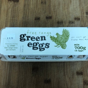 Green Eggs Free Range Eggs