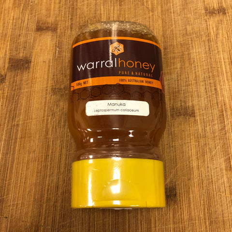 Warral Manuka Honey Squeeze Bottle