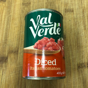Val Verde Diced Tomatoes