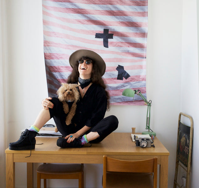 Portrait Five - Photographer Ali Kate Cherkis- Her Last Days in Stoke Newington, London