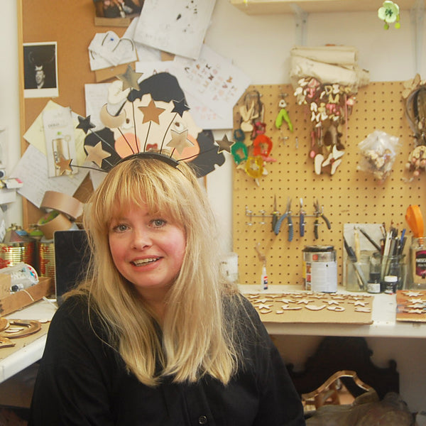 Portrait Eight - Jewellery Designer and Illustrator Lou Clarke at her Studio in Leigh - On - Sea, Essex