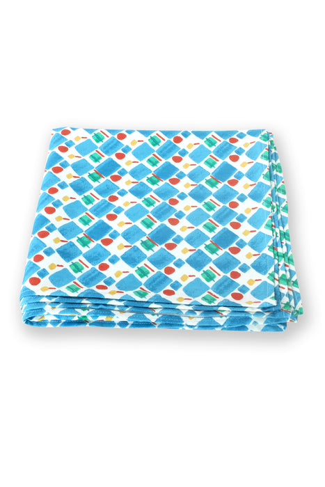 Checkers and Deckers Table Linen