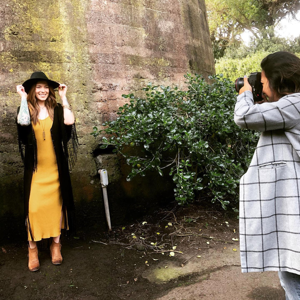 Behind the Scenes: Our Photoshoot in Golden Gate Park